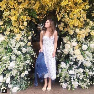 NWT Rebecca Taylor Francine Floral Cotton Dress